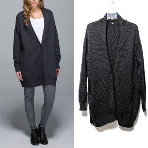 [LULULEMON] Cardi All Day Merino Wool Cardigan M/L